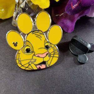 4/$25 Disney Lion King Simba Foot Print Pin